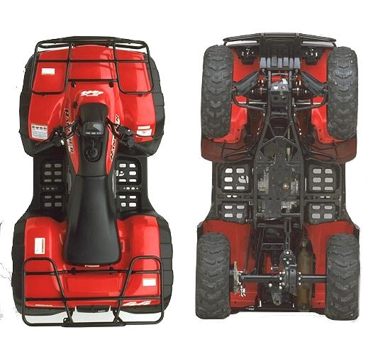 2002 honda trx 350 service manual