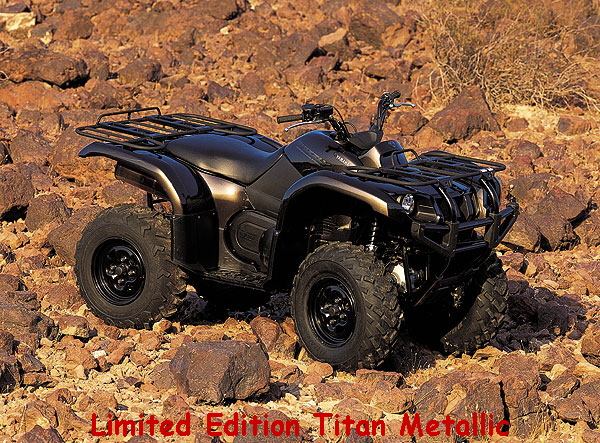 Yamaha Grizzly Limited Edition